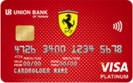 聯邦銀行_法拉利悠遊聯名卡